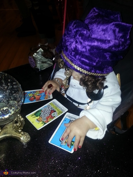 Madam Anzley Fortune Teller Homemade Costume