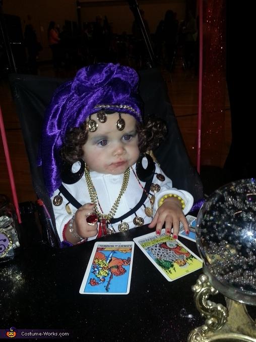 Madam Anzley Fortune Teller Homemade Costume