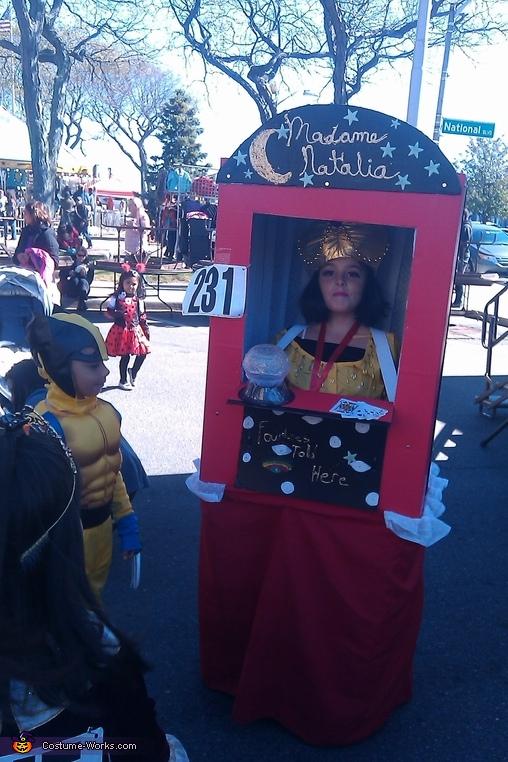 Madame Natalia #3, Madame Natalia Fortune Teller Costume