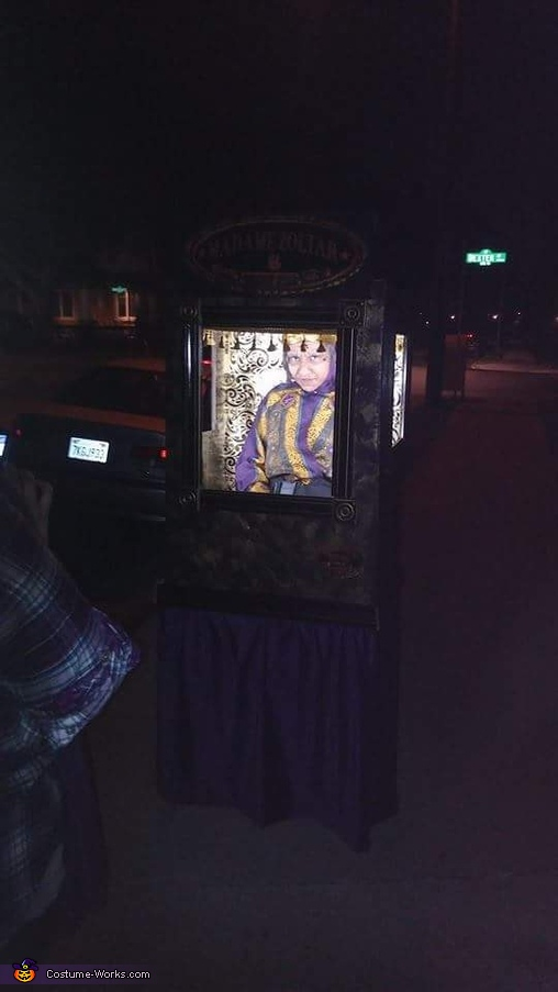 Booth Wins, Madame Zoltar Costume