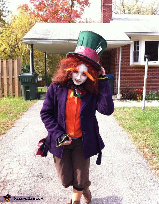 The Madd Hatter - Homemade costumes for women