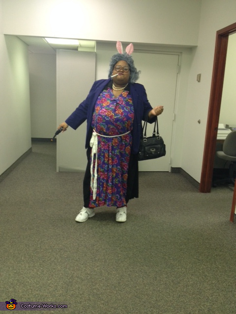 My name is MA to the D E A, Madea Costume