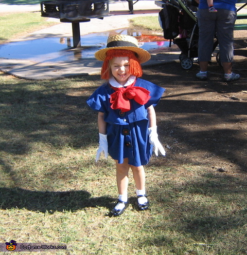 'The smallest one is Madeline.', Madeline Costume