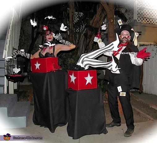 Magic Act Gone Bad Costume