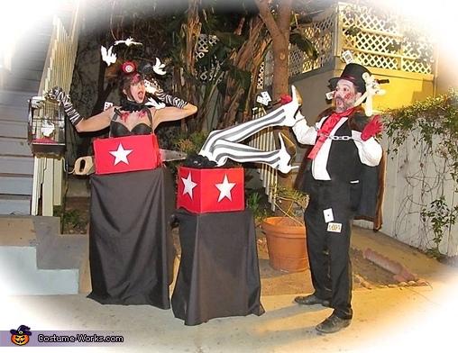 Magic Act Gone Bad Homemade Costume