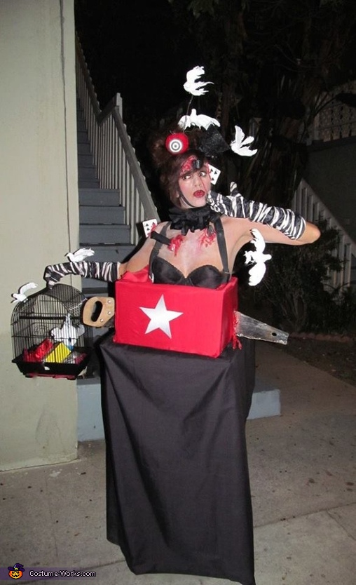 Ouch!, Magic Act Gone Bad Costume