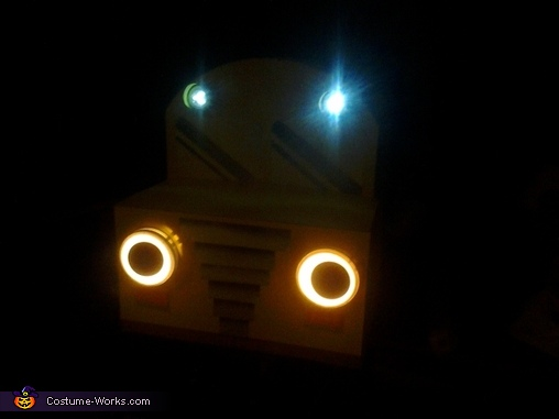Touch lights and LED battery operated lights, Magic School Bus and Miss Frizzle Costume