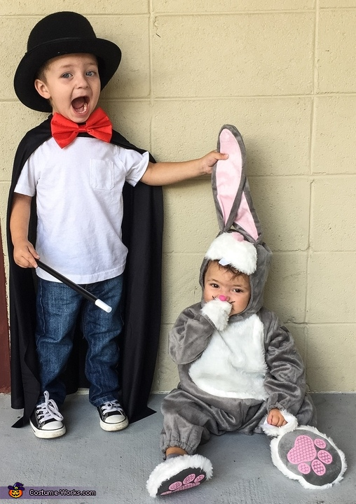 Magician and his Rabbit Costume