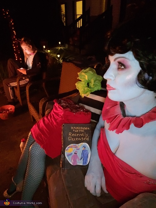 Magicians Assistant from Beetlejuice Homemade Costume