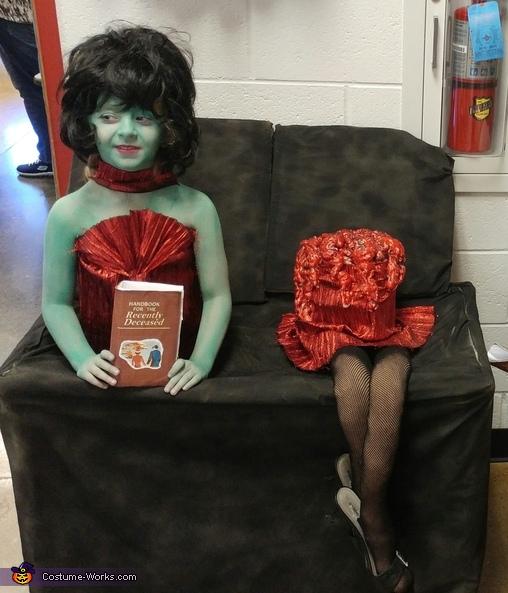 Beetlejuice Magicians Assistant Illusion Halloween Costume