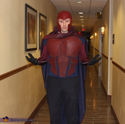 Magneto and Mystique from X-Men Homemade Costume
