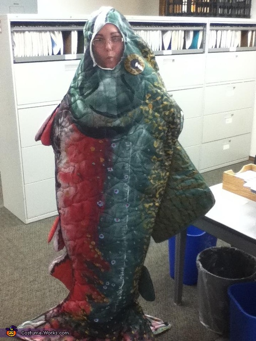 Maine Brook Trout at the office!, Maine Brook Trout Costume