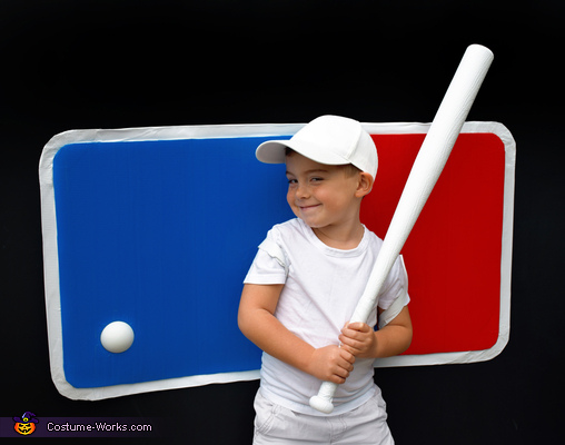 Major League Baseball Logo Costume