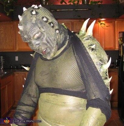Reptileman Costume