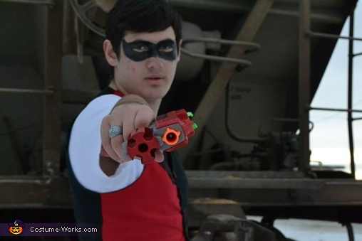 Male Harley Quinn Homemade Costume