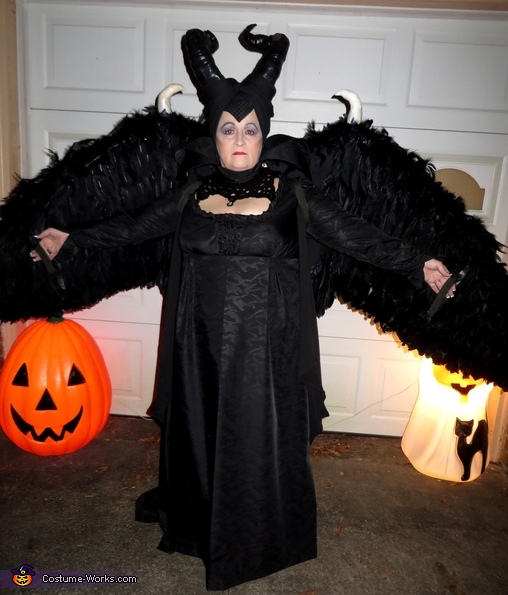 Maleficent Halloween Costume Kids