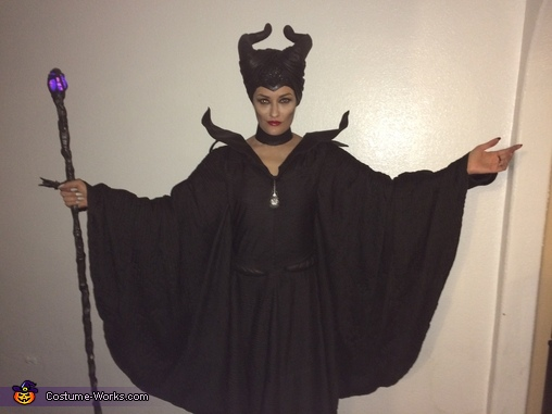 Maleficent 2014 movie christening gown scene costume, Maleficent Costume