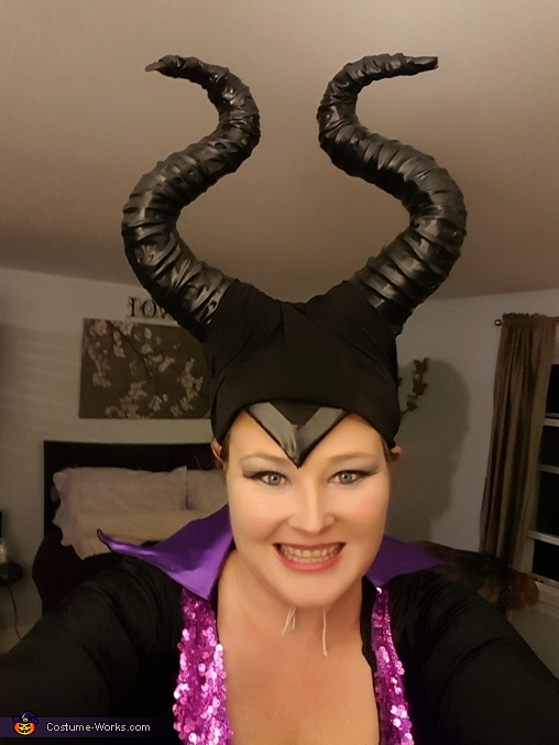 I have a smile, Homemade Maleficent Costume