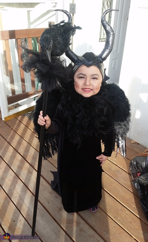 Girl's Maleficent Costume