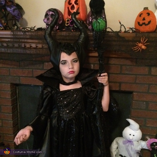 Maleficent, Maleficent Girl's Homemade Costume