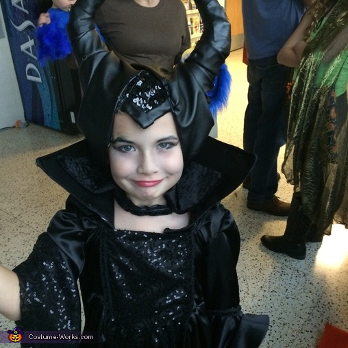 Maleficent Horns, Maleficent Girl's Homemade Costume