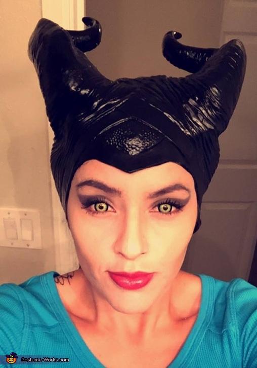 Maleficent Costume Makeup, Maleficent Costume