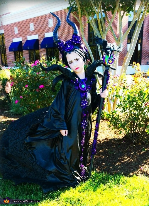 Girl's Maleficent Costume