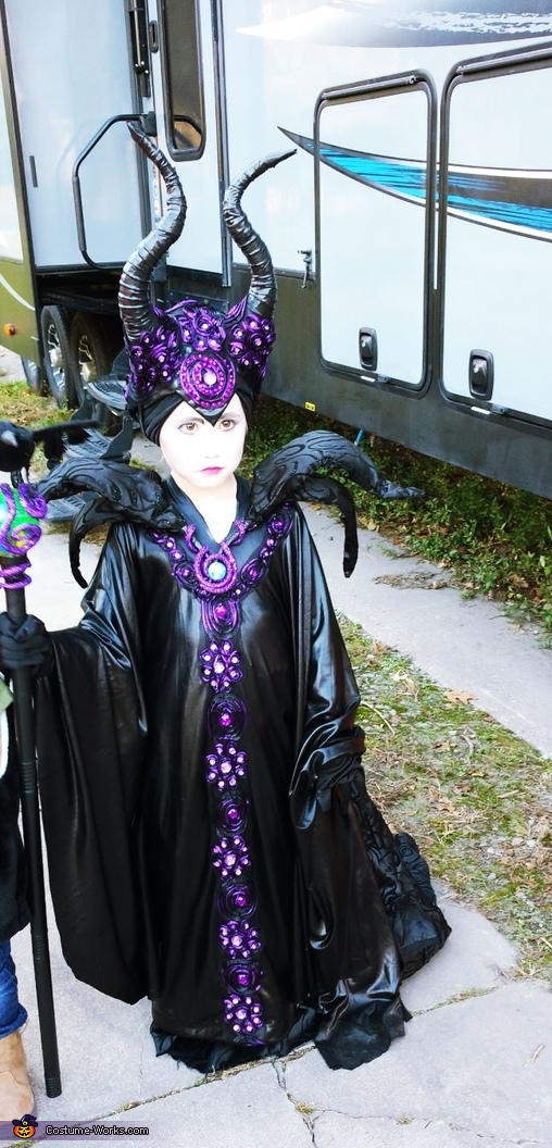 Awesome Girl's Maleficent Costume