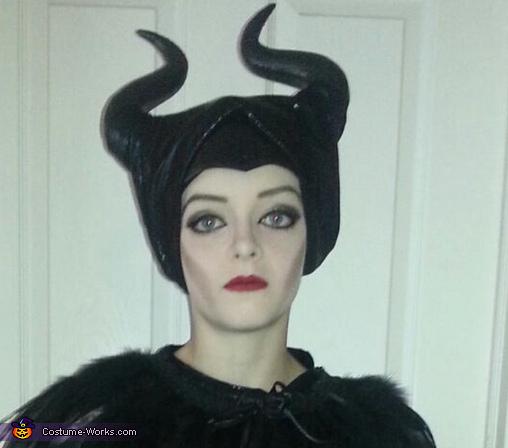 Makeup up close, Maleficent Costume