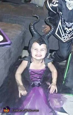 Maleficent Baby Girl's Costume