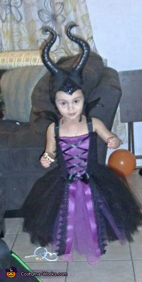 Maleficent Baby Girl's Costume