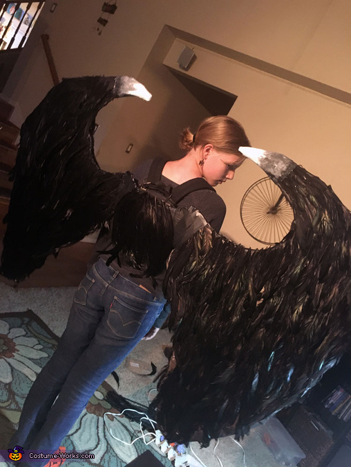 Wings with Wing Tips, Maleficent Costume