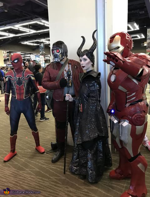 Maleficent meets the Avengers, Maleficent Costume
