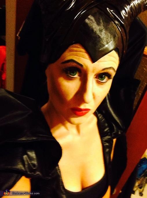 Maleficent Homemade Costume
