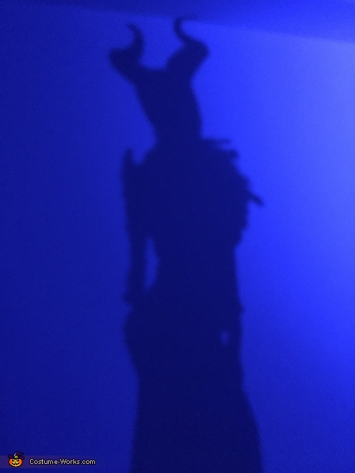 Her shadow, Maleficent Costume
