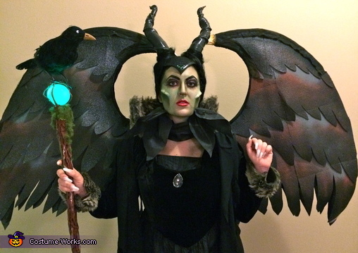 Front close up, Maleficent Costume