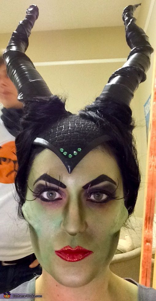 Makeup, Maleficent Costume