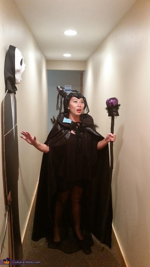 Commanding a spell, Maleficent Costume