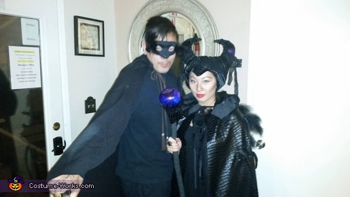 malificent and her crow, Maleficent Costume