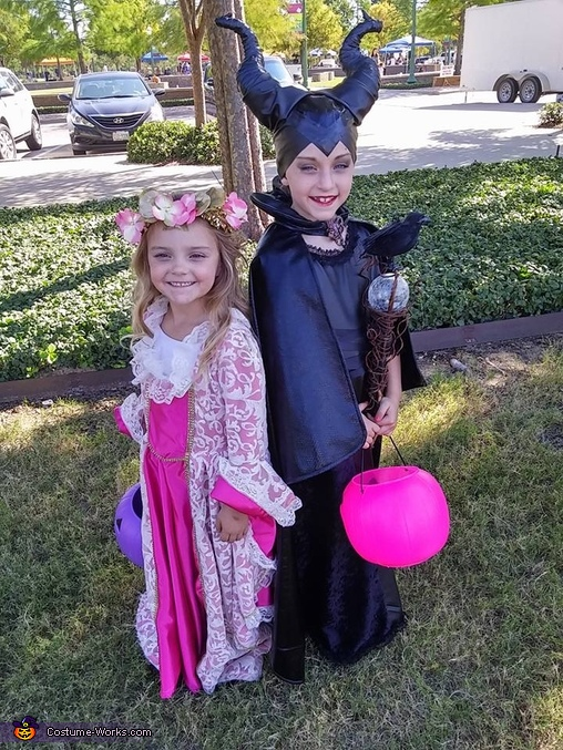 Maleficent and Aurora Costume