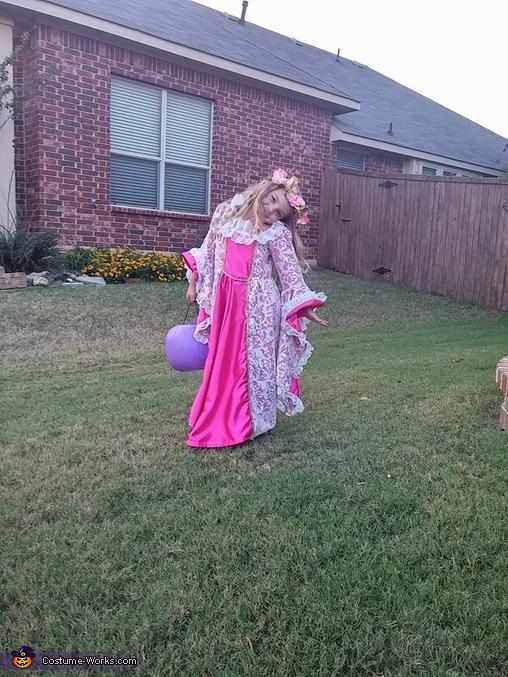 Maleficent and Aurora Homemade Costume