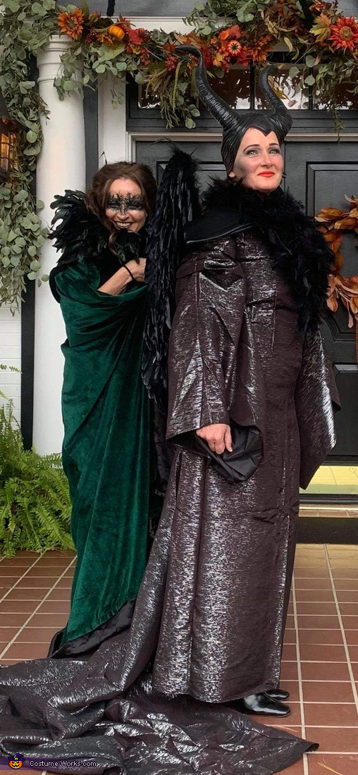 Maleficent and Crow Costume