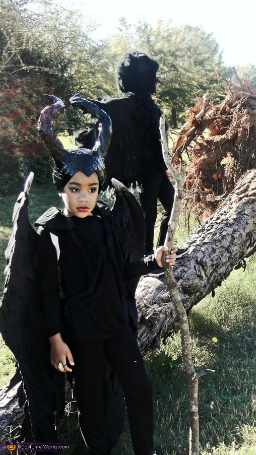 Maleficent and Diaval the Crow Costume