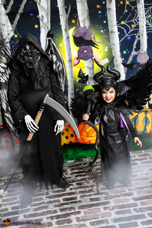 Maleficent and her side kick Costume