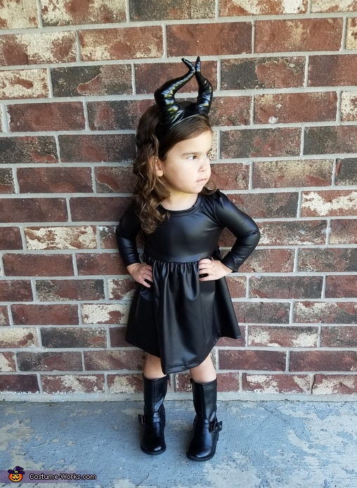 Maleficent Baby Girl Costume