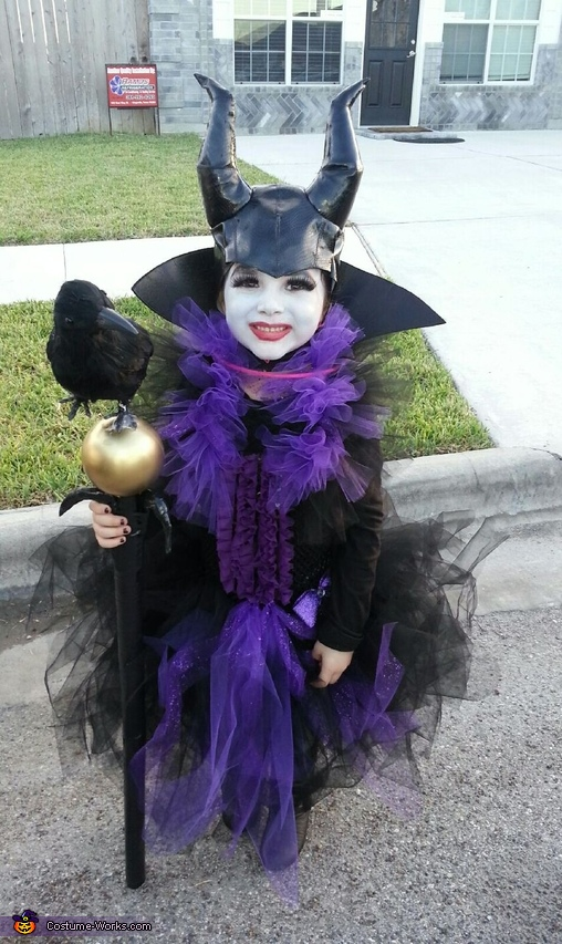 Maleficent Girl's Costume