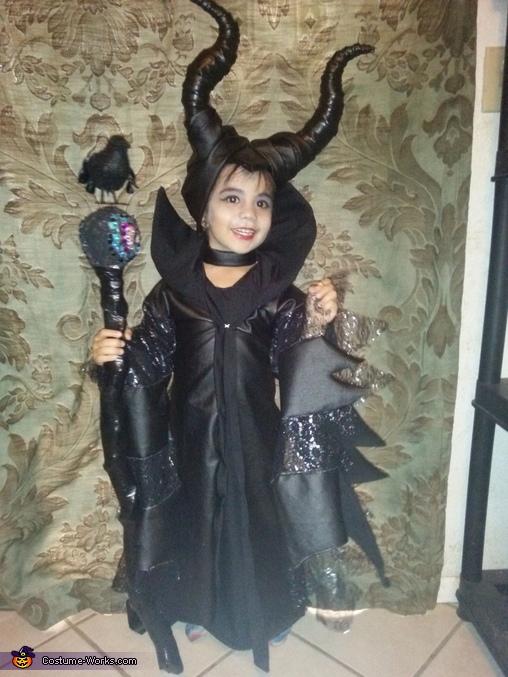 Maleficent Girl's Costume