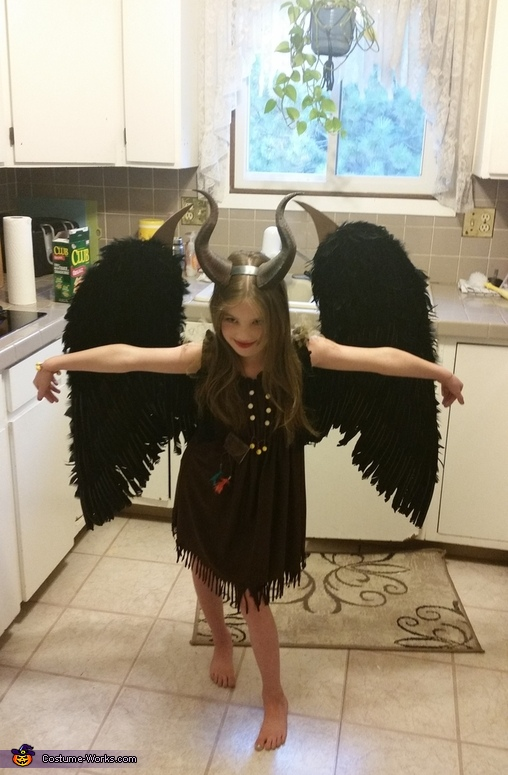 Maleficent Girl's Halloween Costume