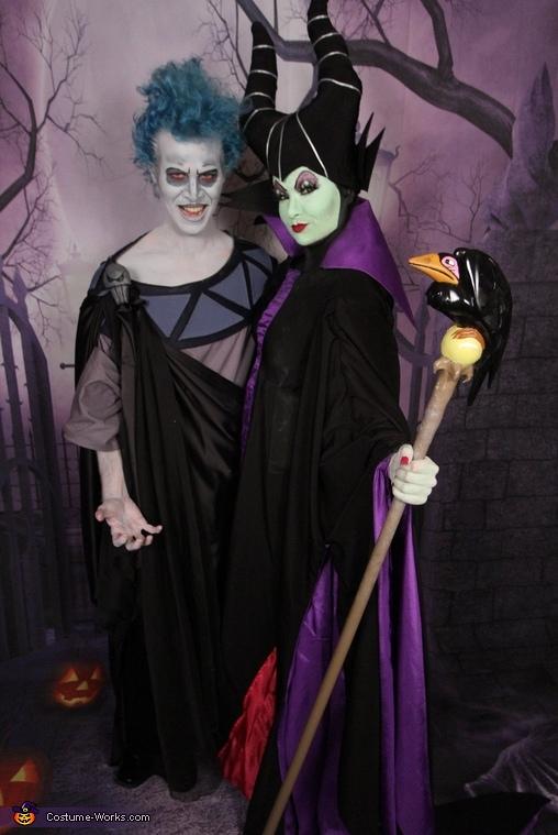 Maleficent & Hades Costume