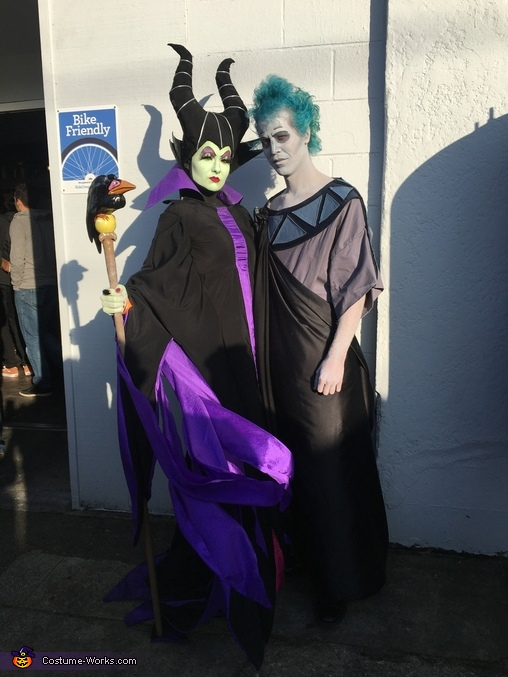 Maleficent & Hades Homemade Costume